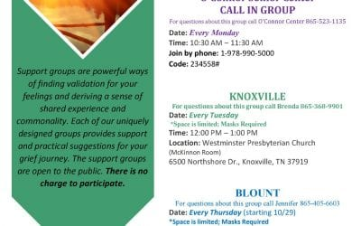 Virtual Options for Grief Support Groups