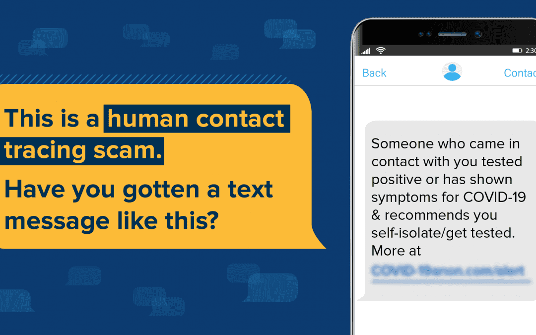 Beware of Contact Tracing Scams