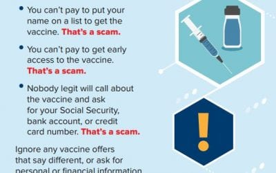 COVID-19 Vaccination Scams