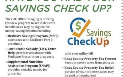 Savings Check Up
